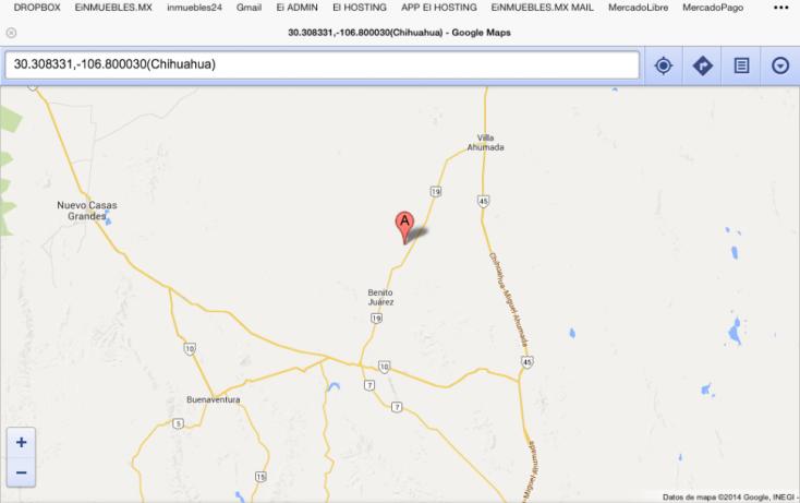 Foto de rancho en venta en, 2do barrio, ahumada, chihuahua, 814395 no 02