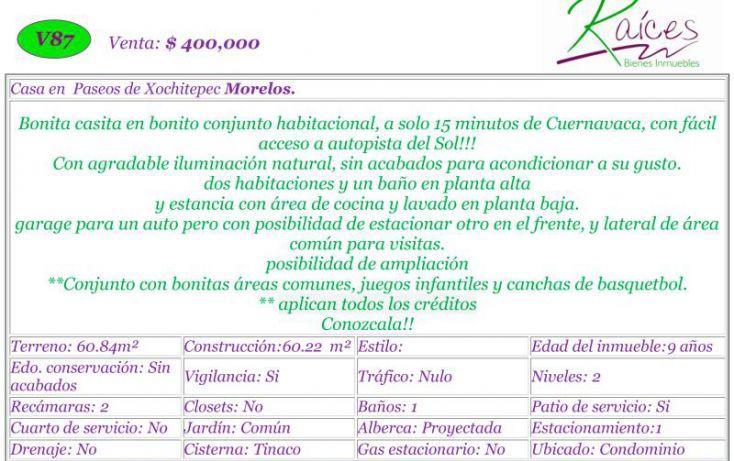 Foto de casa en venta en, 3 de mayo, xochitepec, morelos, 1539794 no 02
