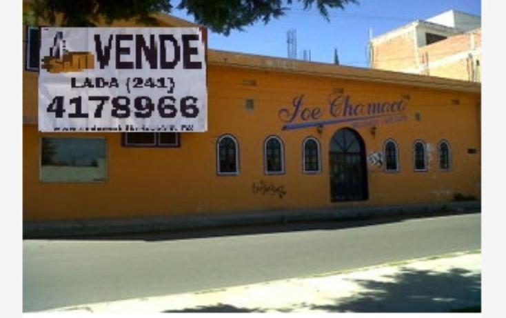 Foto de edificio en venta en  3, la cañada, apizaco, tlaxcala, 390962 No. 01