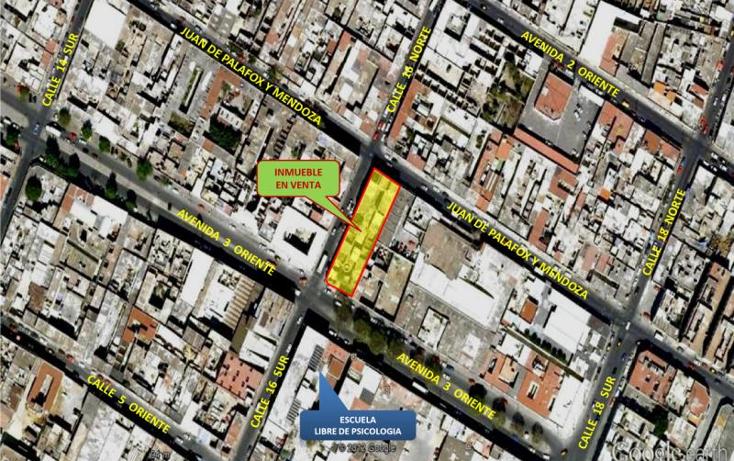 Foto de terreno habitacional en venta en 3 oriente y 16 sur -, centro, puebla, puebla, 792603 No. 01
