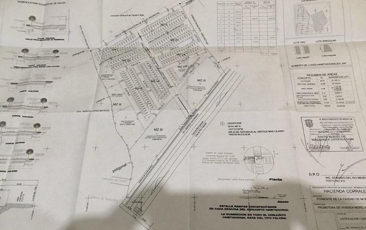 Foto de terreno habitacional en venta en  , 3 puentes, morelia, michoac?n de ocampo, 1957468 No. 14
