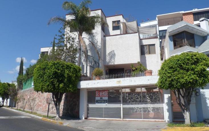 Foto de casa en venta en  30, loma dorada, querétaro, querétaro, 857397 No. 01