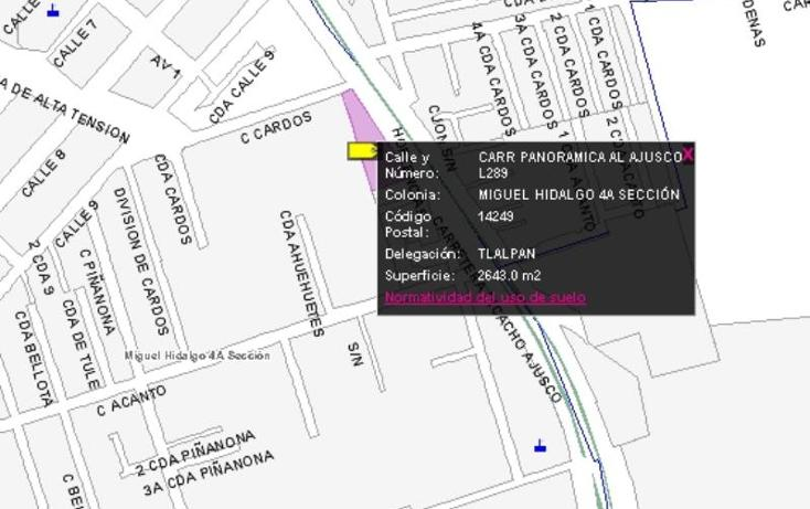 Foto de terreno comercial en venta en  3000, lomas de padierna sur, tlalpan, distrito federal, 670993 No. 14