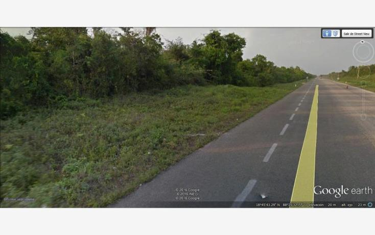 Foto de terreno comercial en venta en  31, aarón merino, bacalar, quintana roo, 1689166 No. 01