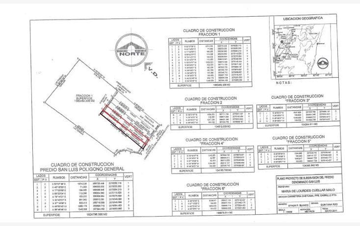 Foto de terreno comercial en venta en  31, aarón merino, bacalar, quintana roo, 1689166 No. 02