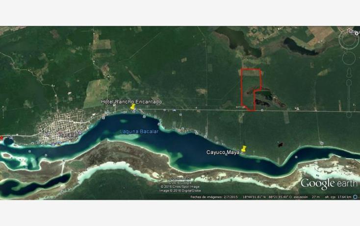 Foto de terreno comercial en venta en  31, aarón merino, bacalar, quintana roo, 1689166 No. 03