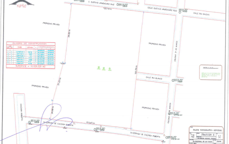 Foto de terreno habitacional en venta en  , 31 de marzo, san cristóbal de las casas, chiapas, 1071333 No. 01