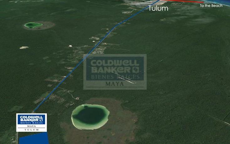 Foto de terreno habitacional en venta en  319, tulum centro, tulum, quintana roo, 328905 No. 01