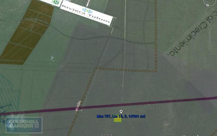 Foto de terreno habitacional en venta en  319, tulum centro, tulum, quintana roo, 328910 No. 02