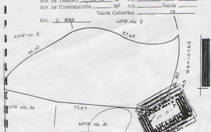 Foto de terreno habitacional en venta en las gaviotas 32, las playas, acapulco de juárez, guerrero, 1795530 No. 07