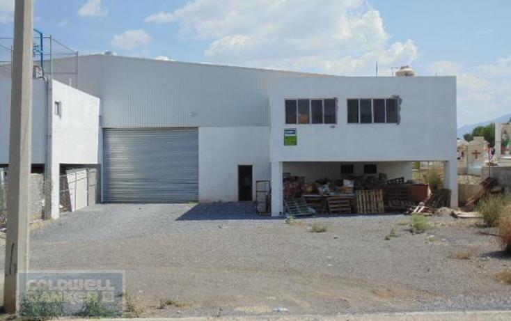 Foto de nave industrial en renta en  324, avícola, saltillo, coahuila de zaragoza, 824191 No. 01