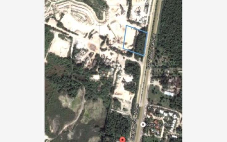 Foto de terreno industrial en venta en  328, puerto morelos, benito ju?rez, quintana roo, 1996438 No. 02