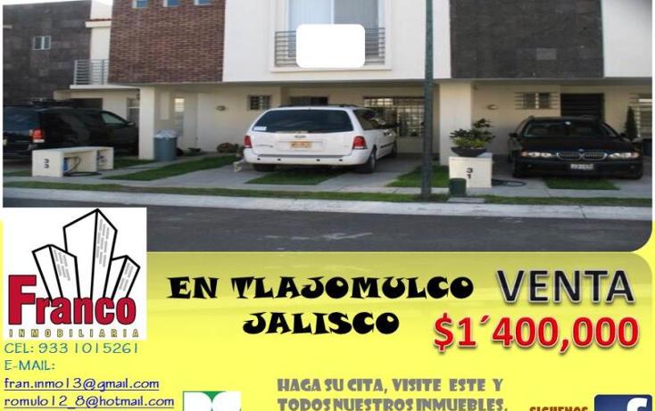 Foto de casa en venta en  33, real del valle, tlajomulco de z??iga, jalisco, 1408329 No. 01