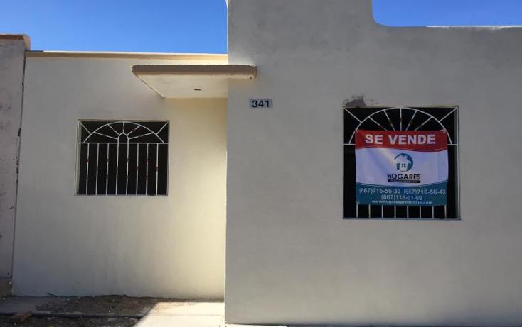 Foto de casa en venta en  341, los angeles, salvador alvarado, sinaloa, 1531780 No. 01
