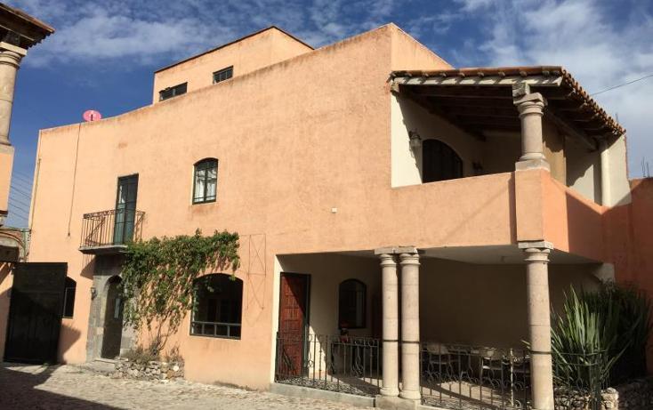 Foto de casa en venta en  345, san miguel tres cruces, san miguel de allende, guanajuato, 802445 No. 01