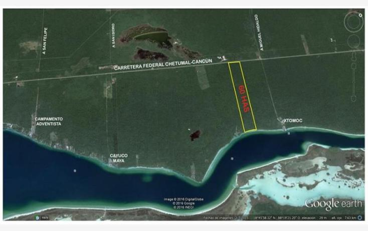 Foto de terreno comercial en venta en costera norte 35, bacalar, bacalar, quintana roo, 2695330 No. 01