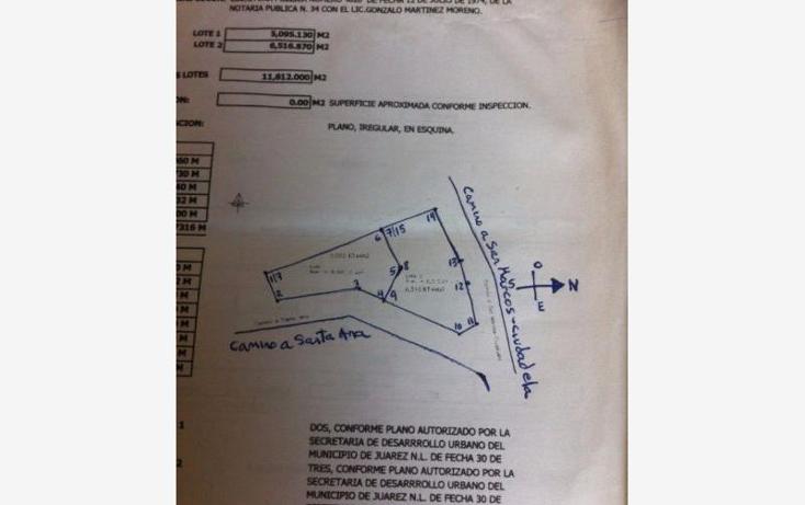 Foto de terreno habitacional en venta en  380, carricitos, ju?rez, nuevo le?n, 1992870 No. 01