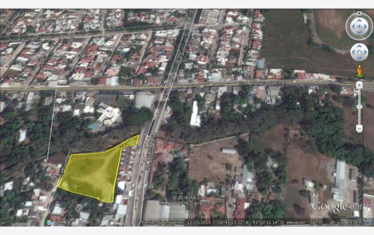 Foto de terreno comercial en renta en 3a oriente norte, fovissste iii el puente, tuxtla gutiérrez, chiapas, 2024318 no 01
