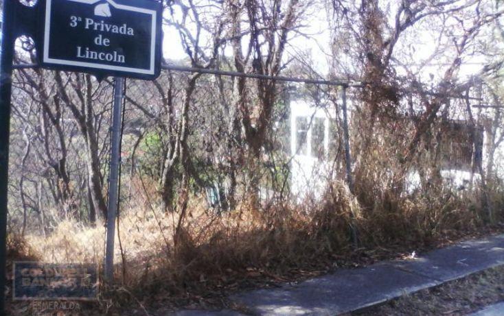 Foto de terreno habitacional en venta en 3raprivada de lincoln, condado de sayavedra, atizapán de zaragoza, estado de méxico, 1800697 no 01
