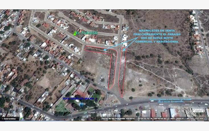 Foto de terreno habitacional en venta en  4, centro, san miguel de allende, guanajuato, 1807268 No. 04
