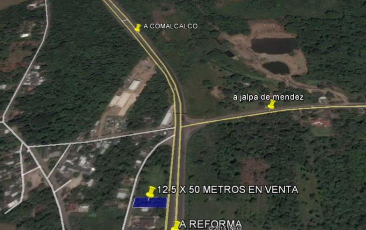 Foto de terreno habitacional en venta en  4, cunduacan centro, cunduac?n, tabasco, 1342585 No. 02