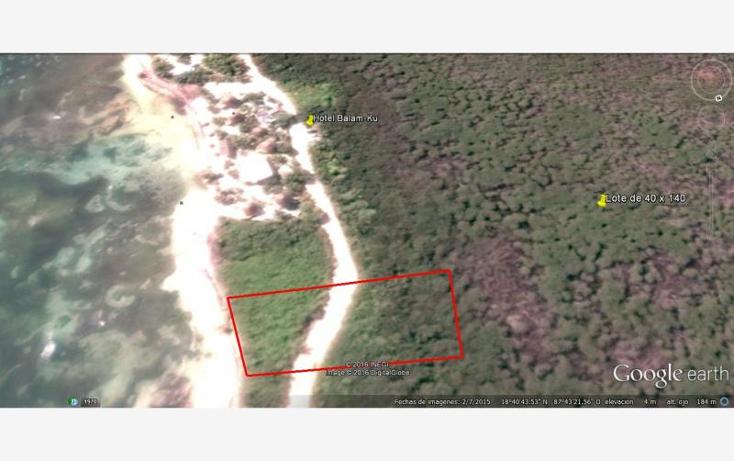 Foto de terreno comercial en venta en  4, mahahual, oth?n p. blanco, quintana roo, 1980402 No. 09