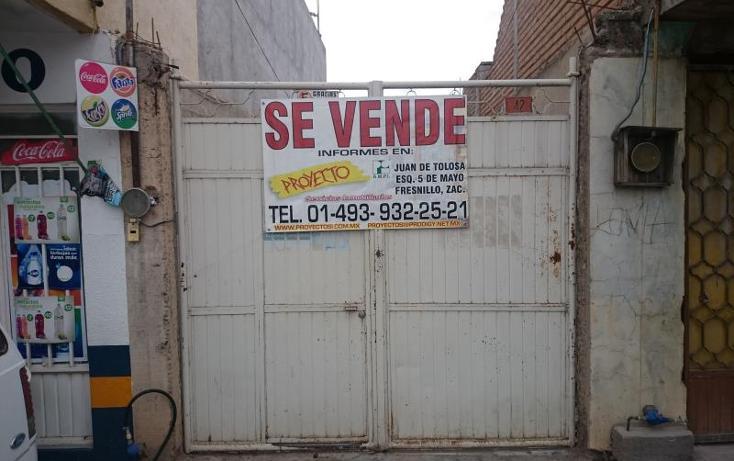 Foto de casa en venta en insurgentes 40, rio grande centro, río grande, zacatecas, 1544454 No. 01