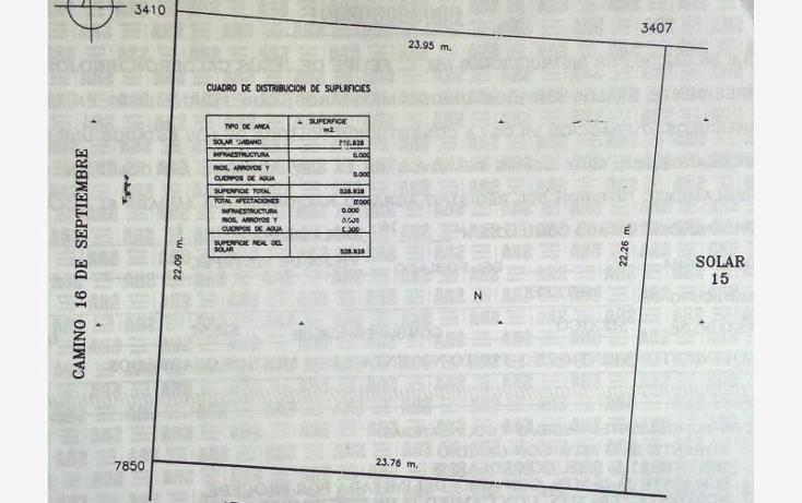 Foto de terreno habitacional en venta en  400 sur, bosques de metepec, metepec, méxico, 1075325 No. 02