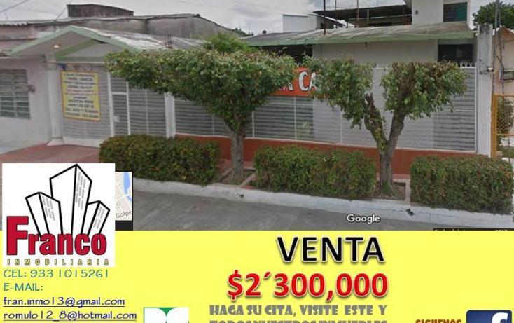 Foto de casa en venta en  403, vicente guerrero, comalcalco, tabasco, 1328965 No. 01