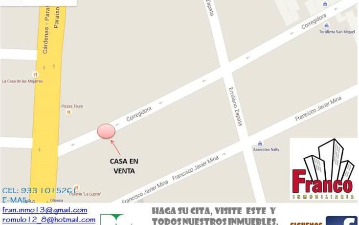 Foto de casa en venta en  403, vicente guerrero, comalcalco, tabasco, 1328965 No. 02