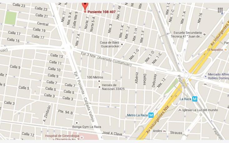 Foto de casa en venta en  407, defensores de la república, gustavo a. madero, distrito federal, 1397119 No. 04