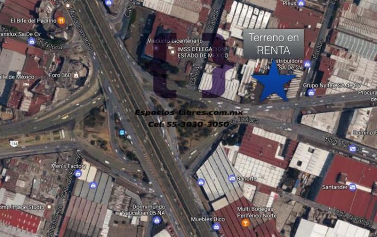 Foto de terreno industrial en renta en escape 41, naucalpan, naucalpan de juárez, méxico, 2670495 No. 01
