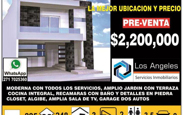 Foto de casa en venta en 42 1589, nuevo córdoba, córdoba, veracruz, 987949 no 01