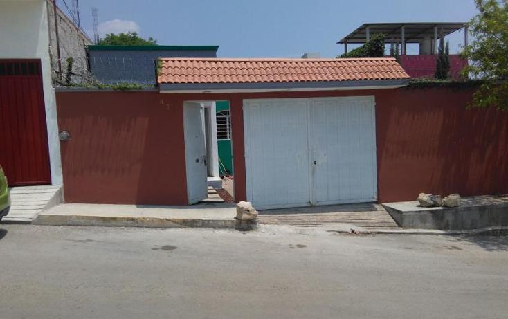 Foto de casa en venta en  434, santa cruz, tuxtla gutiérrez, chiapas, 1903536 No. 01