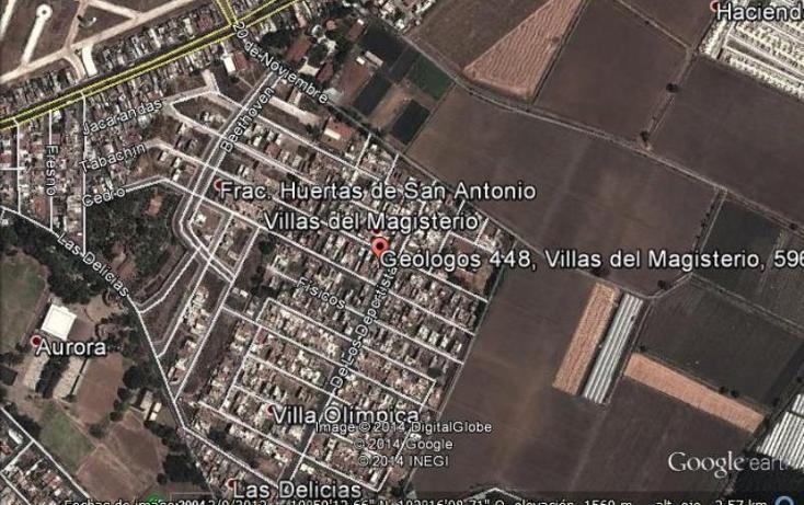 Foto de departamento en renta en  448, villas del magisterio, zamora, michoacán de ocampo, 504905 No. 32