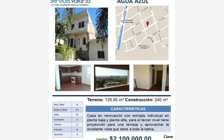 Foto de casa en venta en  454, agua azul, puerto vallarta, jalisco, 561747 No. 23