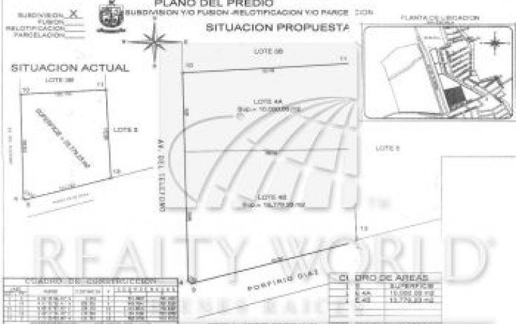 Foto de terreno habitacional en venta en 4635, rincón de santa rosa, apodaca, nuevo león, 1468559 no 03