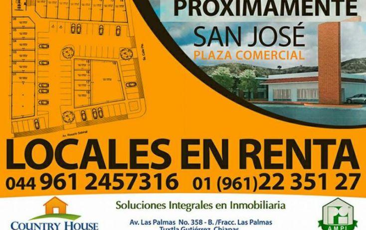 Foto de local en renta en 5 calle poniente y 3 av norte, terán, tuxtla gutiérrez, chiapas, 1487333 no 01
