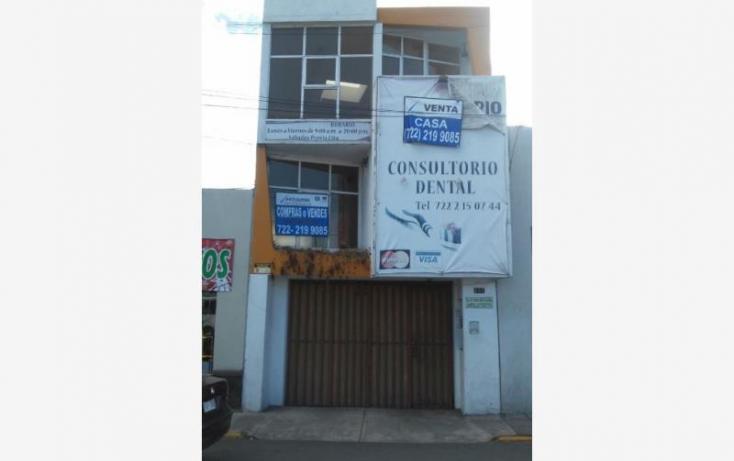 Foto de terreno habitacional en venta en 5 de mayo, san sebastián, toluca, estado de méxico, 854013 no 01