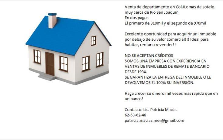 Foto de departamento en venta en calle 7 5, lomas de sotelo, miguel hidalgo, distrito federal, 2680924 No. 02