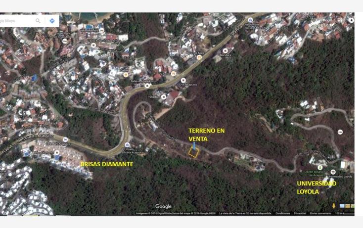 Foto de terreno habitacional en venta en  50, cumbres llano largo, acapulco de juárez, guerrero, 1649154 No. 03