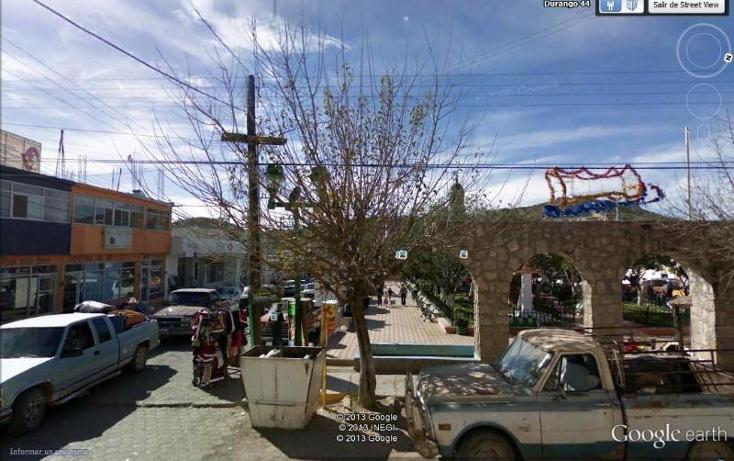 Foto de edificio en venta en  50, santa maría del oro centro, el oro, durango, 395491 No. 01