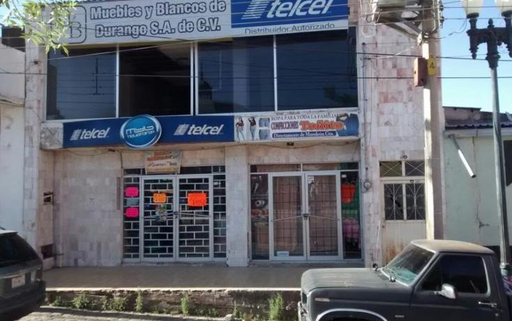 Foto de edificio en venta en  50, santa maría del oro centro, el oro, durango, 395491 No. 06