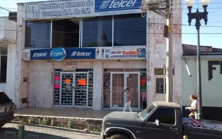 Foto de edificio en venta en  50, santa maría del oro centro, el oro, durango, 395491 No. 07