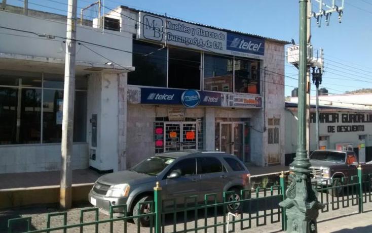 Foto de edificio en venta en  50, santa maría del oro centro, el oro, durango, 395491 No. 08
