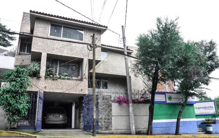 Foto de casa en venta en  500, santa teresa, la magdalena contreras, distrito federal, 1029201 No. 01