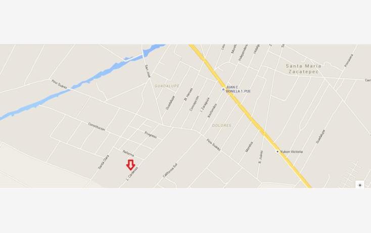 Foto de terreno habitacional en venta en lázaro cárdenas 500, zacatepec, juan c. bonilla, puebla, 1046417 No. 02