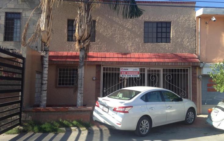 Foto de casa en venta en calle 23 505, filadelfia, gómez palacio, durango, 1172407 No. 01