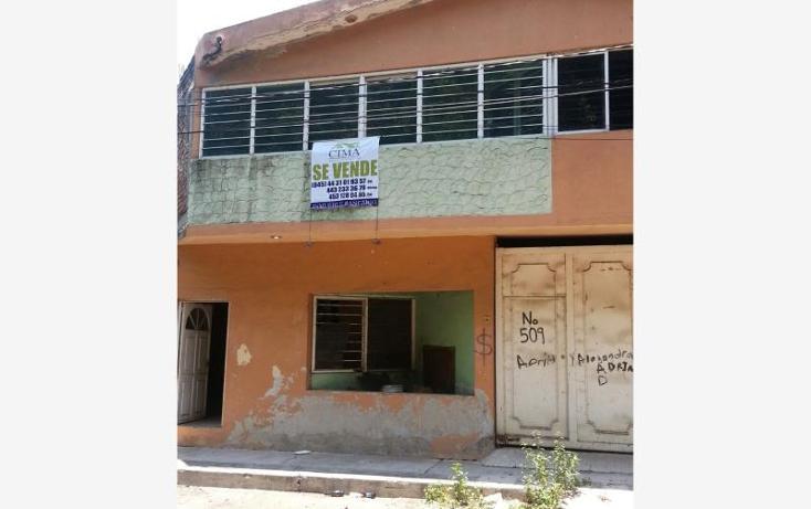 Foto de casa en venta en  509, morelos, apatzing?n, michoac?n de ocampo, 573164 No. 01