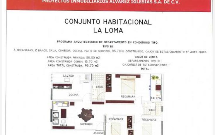 Foto de departamento en venta en  51, tlalnemex, tlalnepantla de baz, m?xico, 1848598 No. 06